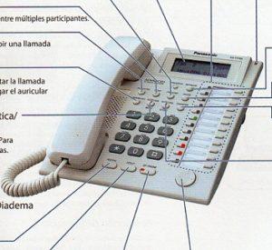 Tel fono h brido for Partes de una ducha telefono