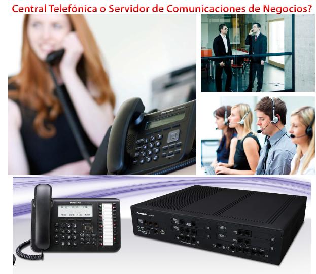 Central Telefónica o Servidor de Comunicaciones de Negocios